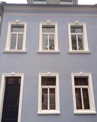 Fassadenanstrich in Köln Weiden