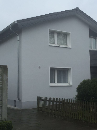 Bauvorhaben Königsdorf mit Wärmedämm-Verbundsystem