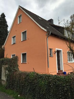 Armierungsputz- Strukturputz und ein Egalisationsanstrich - Bauvorhaben in Brauweiler